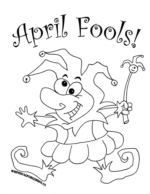 free april coloring pages - photo#15