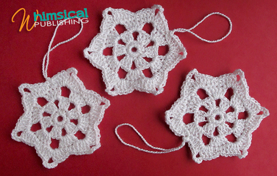 Crochet Snowflake Patterns Free Easy : Simple Crochet Snowflake Pattern
