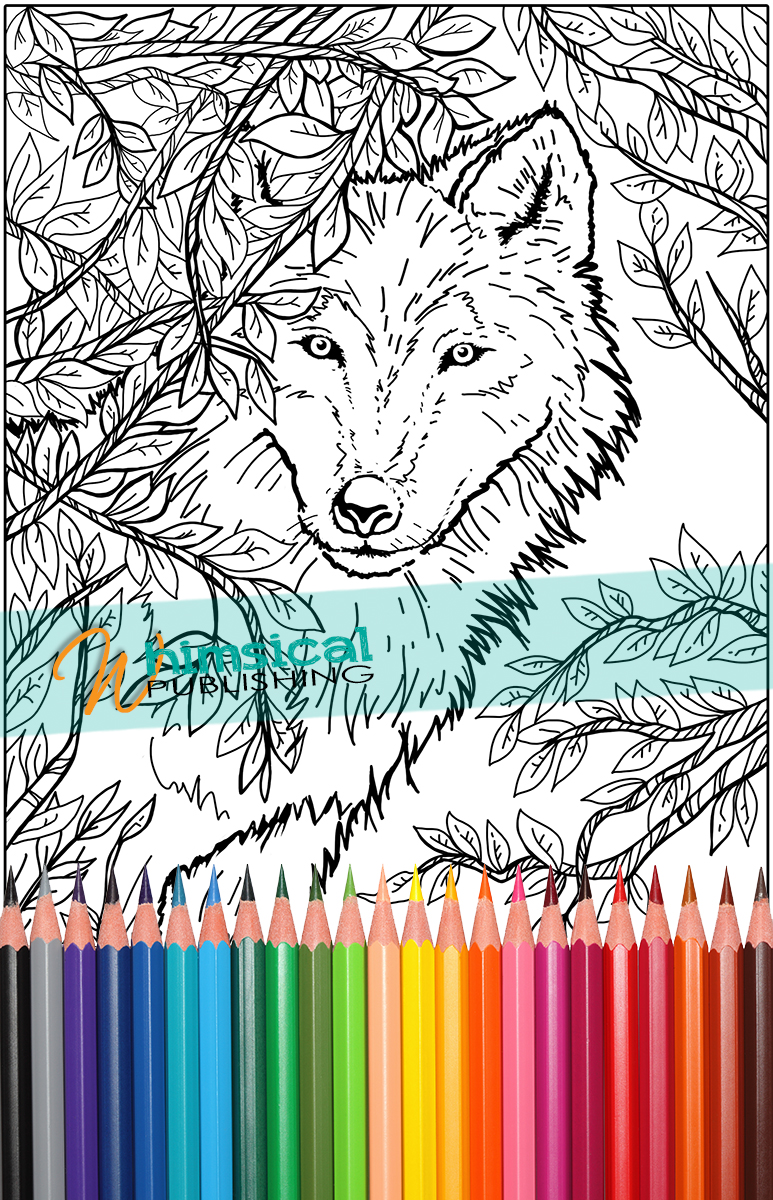 wolf coloring pages for adults. ideas about colouring pages on ... - Realistic Werewolf Coloring Pages